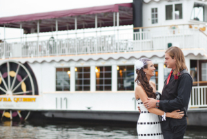 Wedding on the Catawba Queen