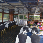 Perfect space for on the water weddings at Lake Norman | Lady of the Lake | Lake Norman