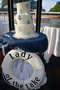 Beautiful Cake on the Lady of the Lake | Lady of the Lake | Lake Norman