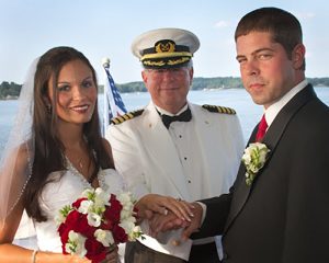 Captains Marry Couple | Lady of the Lake | Lake Norman